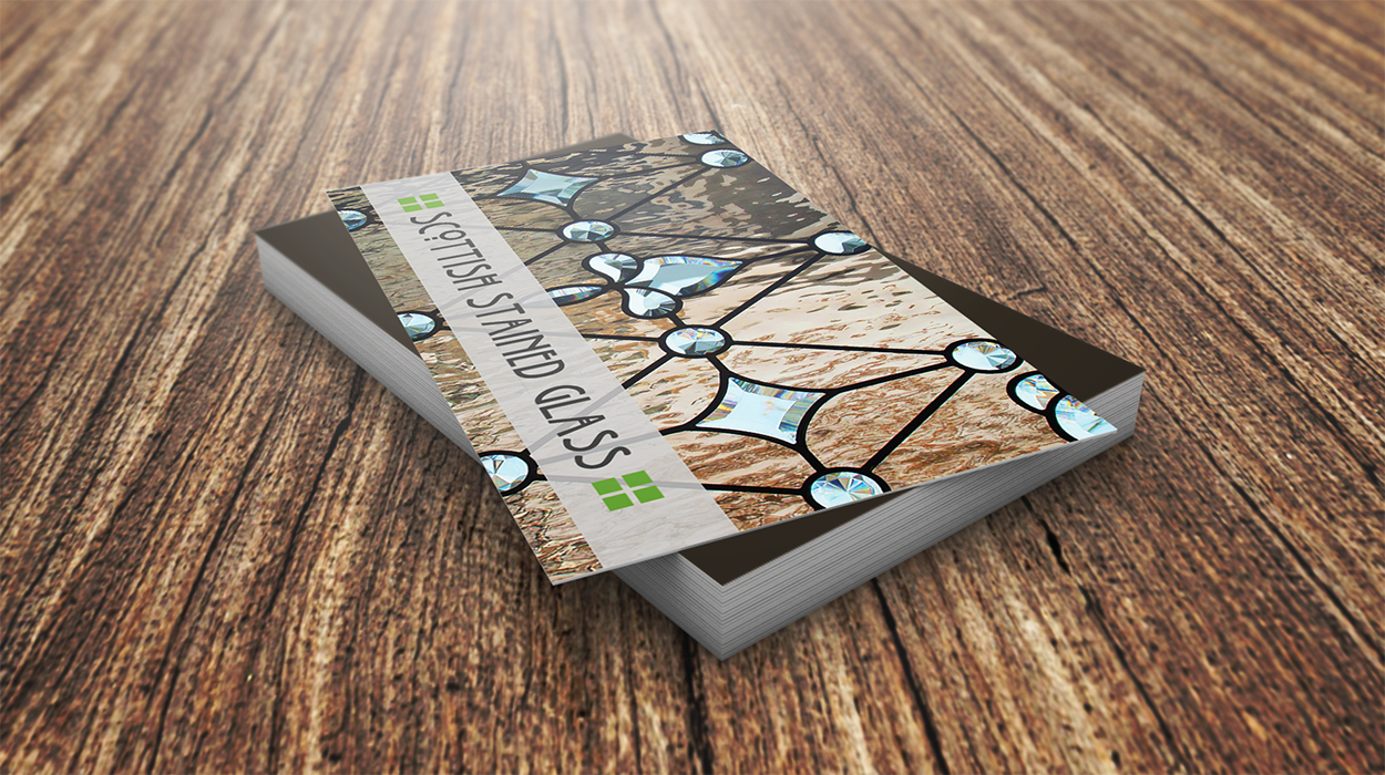 Business Card Mockup Scottish