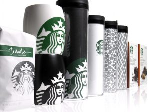 Starbucks is an example of a brand with excellent collateral